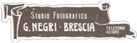 Logo Studio Fotografico Negri