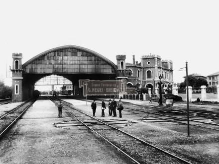 Stazione Ferroviaria Brescia - 1904