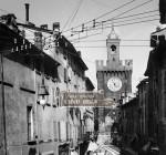 Corso Garibaldi a Brescia - Fine Ottocento