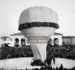 Mogolfiera in Piazzale Cremona a Brescia - Fine Ottocento