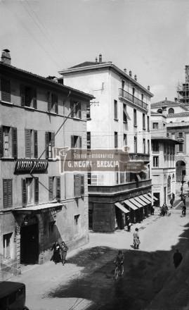 Albergo Brescia nel 1930 circa