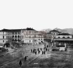 Piazzale Cremona a Brescia alla fine dell'Ottocento