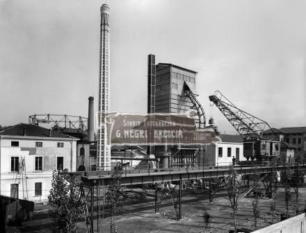 L'Officia del Gas a Brescia nel 1933 circa