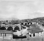 Le Officine Metallurgiche Togni di Brescia in una fotografia del 1907