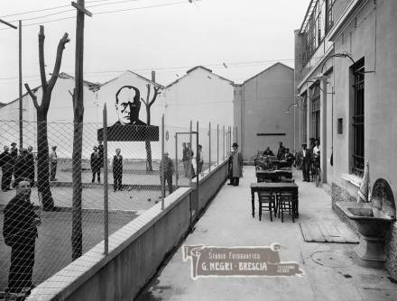 Il Ritrovo Vantini di Brescia in una fotografia degli anni Tranta