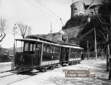 Il primo tram elettrico cittadino a Brescia nel 1904