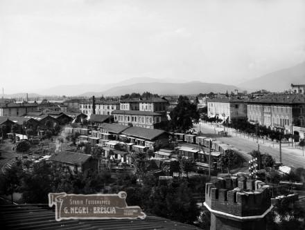Il trasporto ferroviario a Brescia nel primo decennio del novecento
