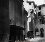 Quartiere medievale delle Pescherie a Brescia negli anni venti