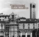 Piazza della Loggia in una fotografia scattata nel 1940.